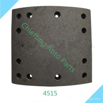 garniture de frein de camion non-amiante 4515