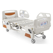 ICU Used Deluxe 5 Functions Electric Hospital Beds with CPR Function