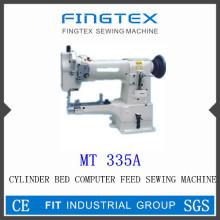 Cilindro cama composto alimenta a máquina de costura (335A)