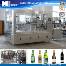 Alcohol Drink/Glass Bottle Liquid Washing, Filling, Capping Machine