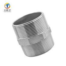 Encaixes de tubulação reta de alta qualidade parafuso de rosca dupla 2-150