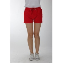 Red women shorts for sales