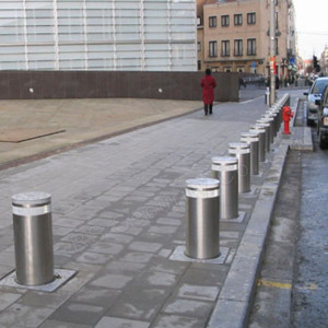 Car Parking Security Traffic Hydraulic Bollards