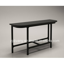 Moderno salón madera maciza mesa de pasillo (SD-29)