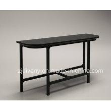 Table de salon bois massif moderne couloir (SD-29)