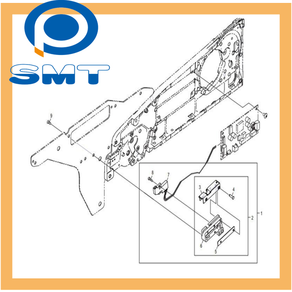 SMT FEEDER ACCESSORIES AA6WC06 AA6WC07 FOR FUJI NXT FEEDER