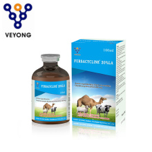 200 mg de HCl de oxitetraciclina inyectable para veterinarios