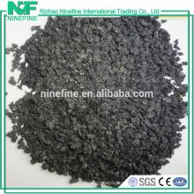 Fournir de faibles cendres tailles 1-5mm graphite carbone relanceur de Chine