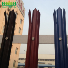Cheap price HGMT standard Palisade fencing