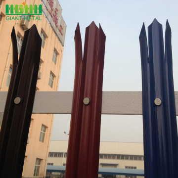 Quality insurance steel palisade fencing for sale