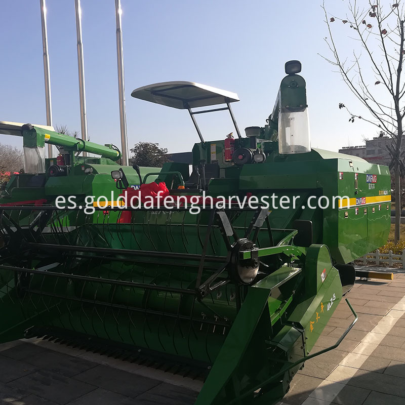 reliable HST self-propelled rice harvester philippines