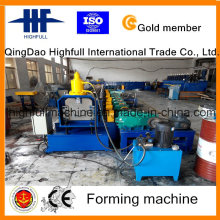 Hydraulic Automatic Color Steel Gutter Roll Forming Machinery