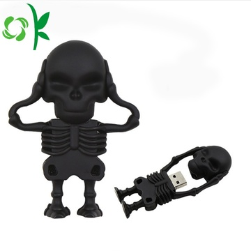 Cool Skeleton Knight Silicone Soft Stick USB Stick