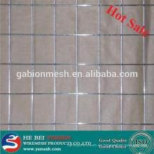 La venta caliente 2x2 galvanizó el acoplamiento de alambre soldado para el panel de la cerca