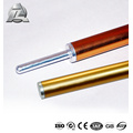 ZJD better price specialized aluminum telescopic tent pole profile