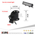 "11.8"" 72W 10-30V 6000K Super Bright Waterproof PC Lens Flood Spot Beam LED Offroad Light Bar"