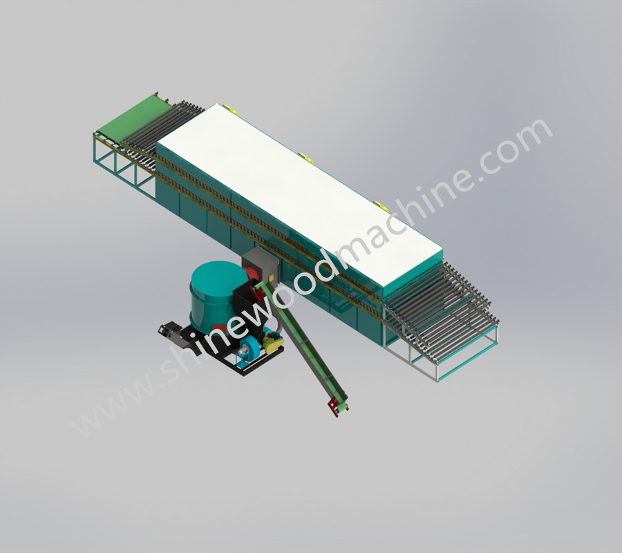 Automatic Veneer Dryer