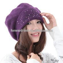 2014 new winter women's hat with star
