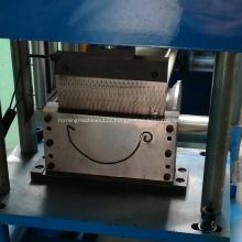 Customized automatic aluminum gutter production line