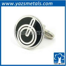 Power icon cufflinks, customize high quality metal cufflink crafts