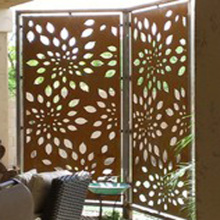 Decorative Metal Screen Privacy Screen