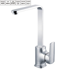 Brass Long neck durable kitchen sink faucets