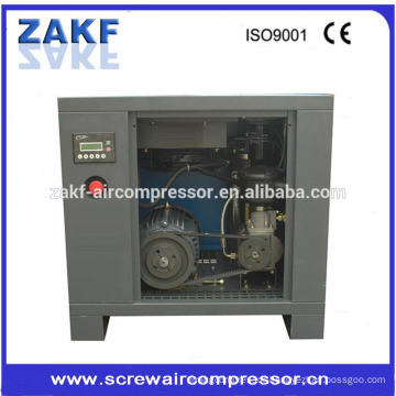 ZAKF 11kw 15hp high Power Low noise belt driven Scrwe air compressor