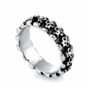 US classical stainless steel o finger rings