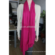 Kaschmir stricken solide Schals Schals