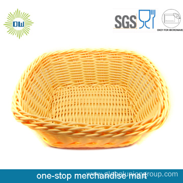 Multi-functional Plastic Rattan Basket