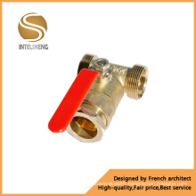 Brass Tee Ball Valve (TFB-050-001)