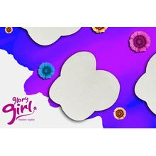 Butterfly shaped underarm sweat pads for girls