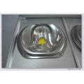 La vente chaude a conduit l'éclairage de rue Ra> 75 puissances élevées 110lm / w Bridgelux chip et Meanwell prix d'usine du conducteur