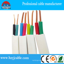 Solid Flat Sheath Cable Copper Wire