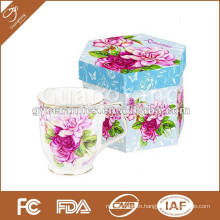 S/2 10OZ mugs and lid and spoon with metal stand in color box ITEM NO:GY08-CS002-C