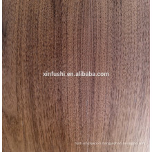 18mm Natural walnut veneer faced Particle board