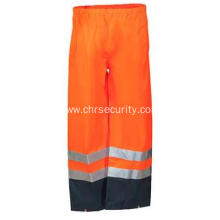 Men's High Visibility Breathable Rain Pants