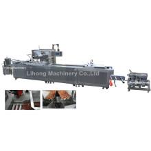 Dlz-460 полностью автоматическая машина для вакуумной упаковки морепродуктов непрерывного действия