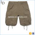 Slim-Fit Coton-Ripstop vente en gros Shorts Cargo shorts de style 3/4 pour hommes