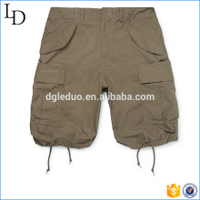 Slim-Fit Cotton-Ripstop wholesale Cargo Shorts mens 3/4 style shorts