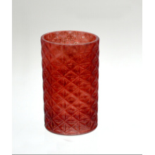 High Red Candle Holder for Holiday