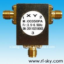 1.15 максимальный КСВН Диапазон 200мгц Ширина 5.7-5.9 ГГц РФ коаксиальный Циркулятор
