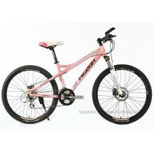 """Marco de aluminio 24sp MTB 26 """"bicicleta de montaña femenina (FP-MTB-A077)"""