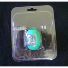 Caixa de empacotamento plástica da bolha do OEM com cartão da impressão