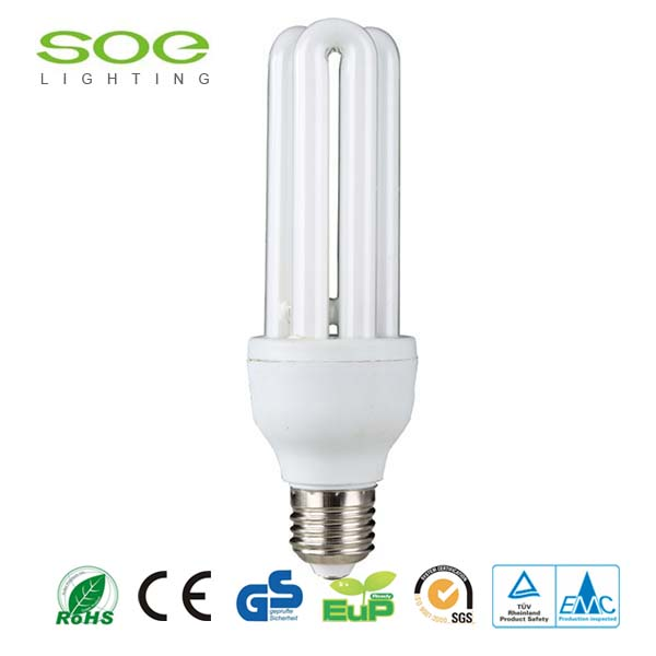 8000hrs E27 2U energy saving Light