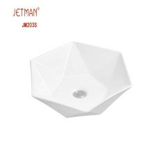 JM7881 420 * 420 * 120 Crème Art Bassin Shamboo Bassin