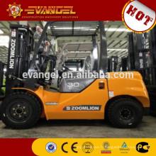 Zoomlion 3 tonnes diesel chariot élévateur FD30 pince chariot élévateur