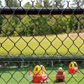 Diamond Chain Link Fence para zona privada