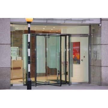 Four-wing Revolving Doors with different Structures