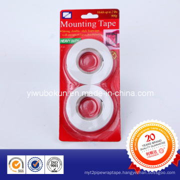 1.5mm Double Side Foam Tape with Card Packing